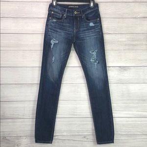 Express - Mid Rise Legging Jean - 0R